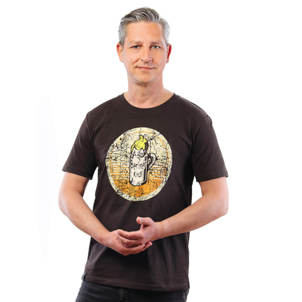 "Berliner Kindl Retro T-Shirt ""Bierdeckel"""